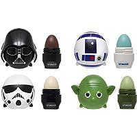 Lip Smacker Disney Tsum Tsum Lip Balm, Star Wars Yoda/Darth Vader/R2D2/Storm Trooper, 4 Count