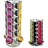 DOLCE GUSTO 24 COFFEE POD ROTATING HOLDER RACK, CAPSULE STAND