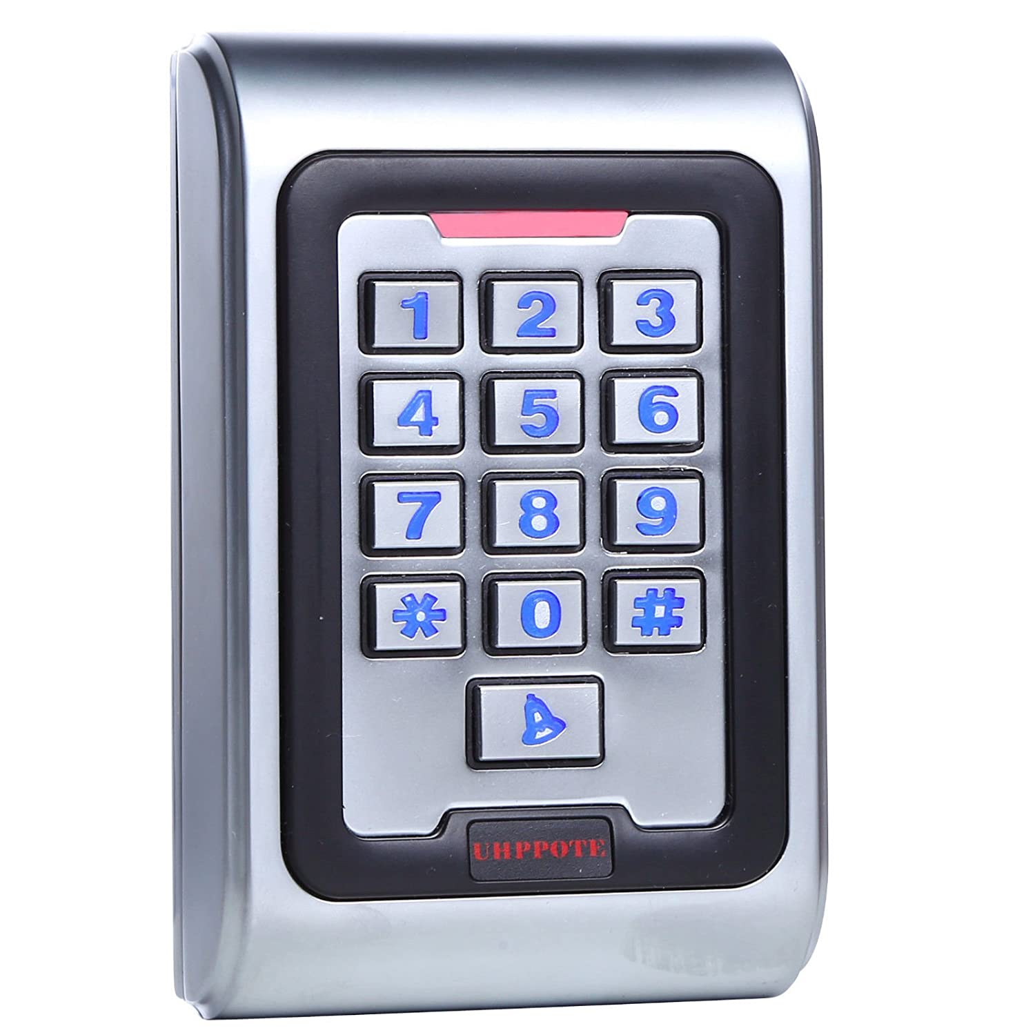 UHPPOTE Metal Zinc Alloy Case Access Control Keypad IP68 Waterproof Standalone Backlight K8EM-W