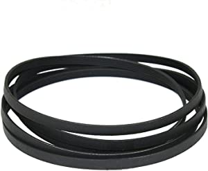 """Zh yan for Maytag 3-12959 312959 Y312959 100"""" 5 Rib 4 Groove LB234 Dryer Drum Belt"""