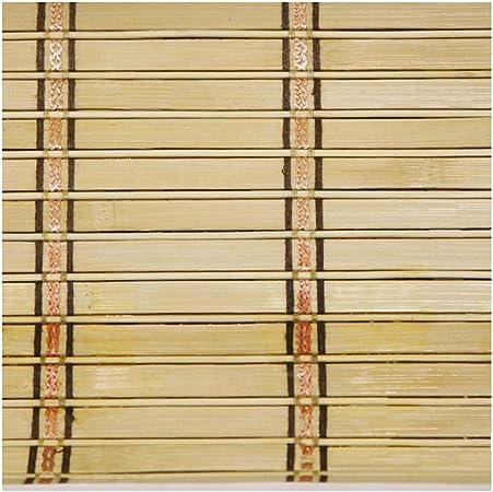 WUFENG Cortina De Bambú Cortar Sombreado Entrada Pantalla Empujar Tirar Puerta Corredera Plegable Persiana Sala Cuarto 5 Colores 12 Tamaños Puede Ser Personalizado Cortina: Amazon.es: Hogar