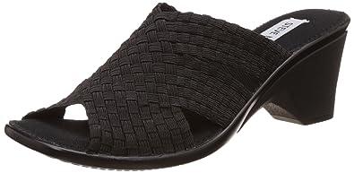 e99507848e3 Steve Madden Women s Slideee Black Fashion Sandals - 3 UK India (35.5 EU)
