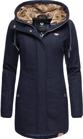 YM hergestellt6 Wintermantel XL Janevegan Mantel Damen Winterparka Farben Ragwear XS O8n0PkwNX