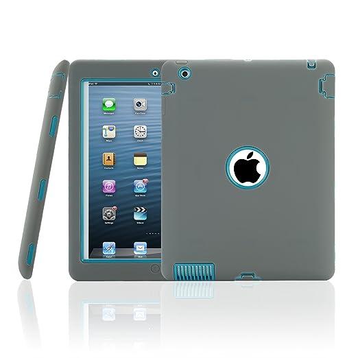 154 opinioni per TKOOFN iPad casi coperchio della scatola per iPad 2/3/4, blu scuro iPad 2/3/4