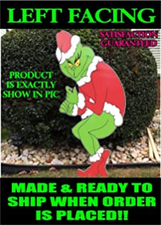 Grinch Stealing Christmas Light  MAX THE DOG 29in X 22in Fast Ship ready to ship