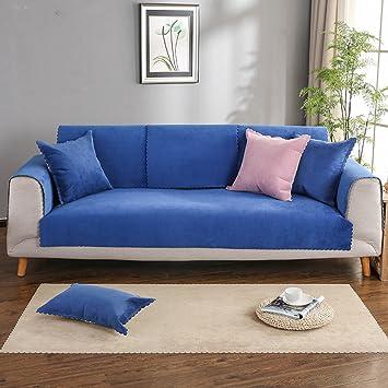 Sofá de funda impermeable color sólido para mascotas,Estilo europeo Cuatro estaciones Funda de sofá