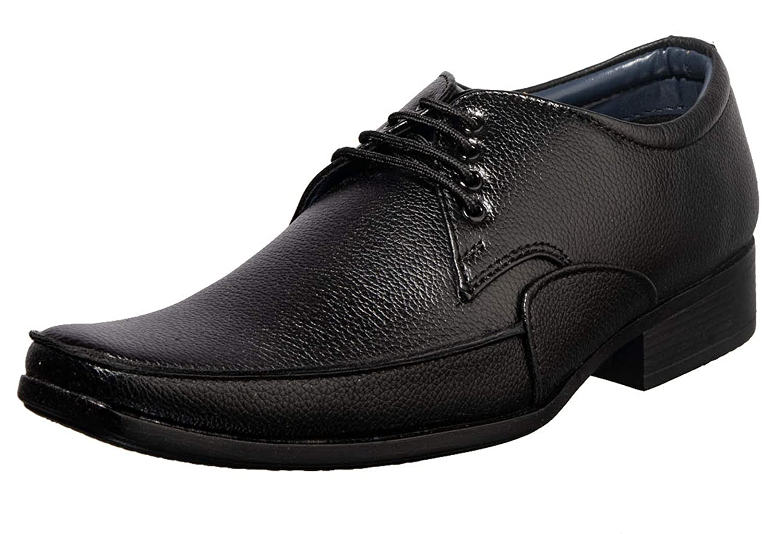 Khadims Men's Brown Formal Derby Shoe
