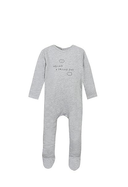 Grain de Blé Dors-Bien Jersey Gris Clair, Pelele para Bebés: Amazon.es: Ropa y accesorios