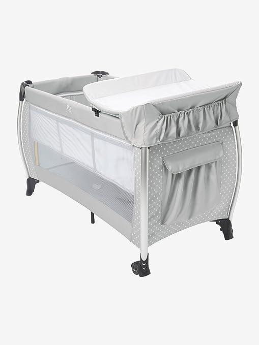 Vertbaudet cama paraguas plegable mobi Bed vertbaudet gris Gris étoiles Talla:talla única