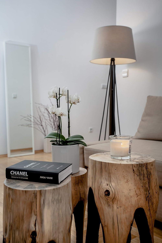 Amazon.com: Reclaimed Wood Coffee Tables, Tree Stump Tables ...