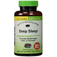 Deep Sleep® Herbal Sleep Aid: 120-Count Bottle of Softgels
