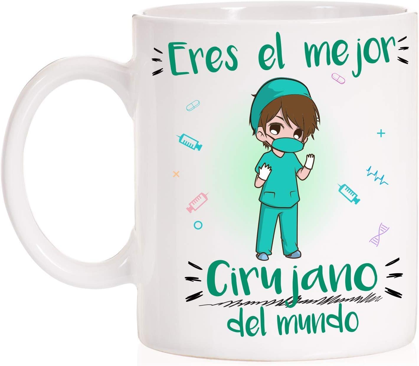 FUNNY CUP Taza Eres el Mejor Cirujano del Mundo Mundial. Taza Divertida de Regalo (Cirujano)