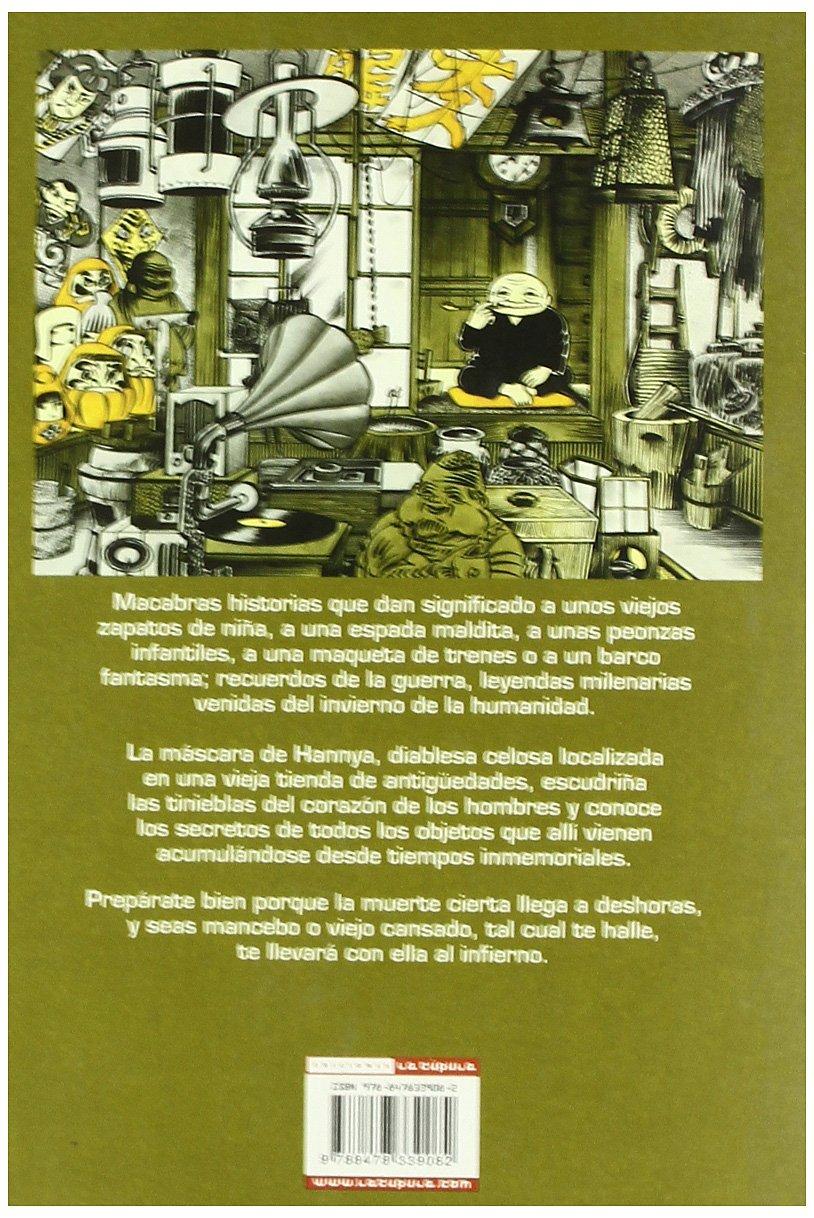 HISTORIAS DE LA MASCARA (MANGA TERROR) MANGA TERROR: HIDESHI ...