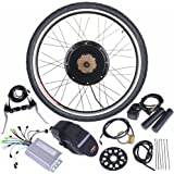 "ReaseJoy 36V 500W 26"" Rear Wheel Electric Bicycle Motor Conversion Kit E-Bike Cycling Hub"