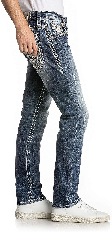 Mens Raine A209 Alt Straight Jeans Rock Revival