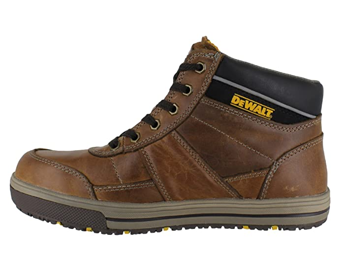 DEWALT Camden Mens Leather SB Steel Toe Lace up Work Boots Amazoncouk  Shoes  Bags