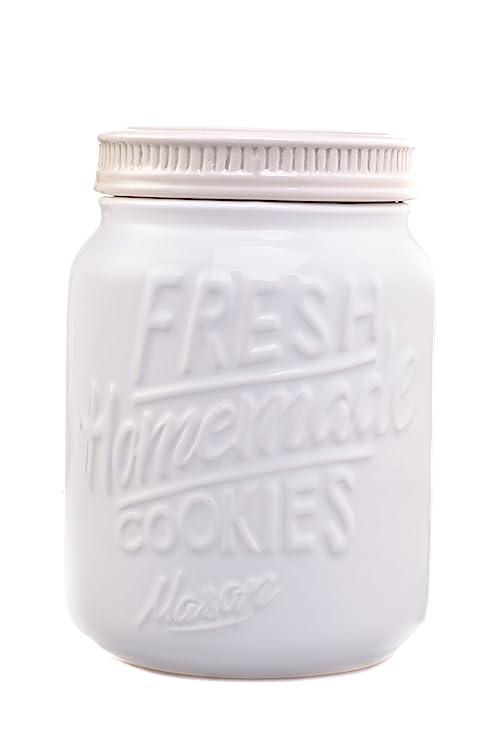 Rustic Cookie Jar Adorable Amazon Ceramic Mason Jars Cookie Jar Keep Your Cookies