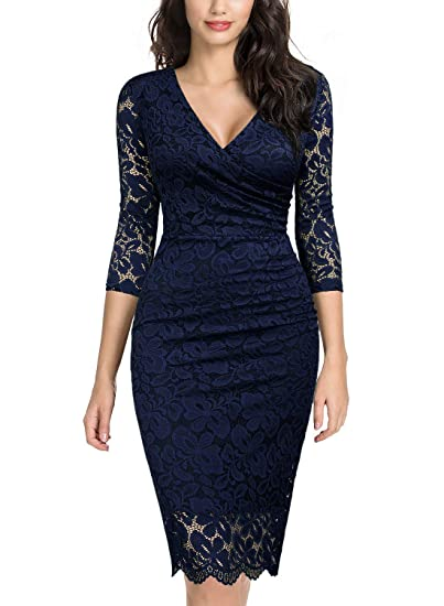 Cocktailkleid blau amazon