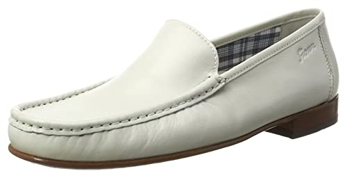 Sioux Claudio, Mocasines para Hombre, Weiß (Alluminio), 43 EU: Amazon.es: Zapatos y complementos