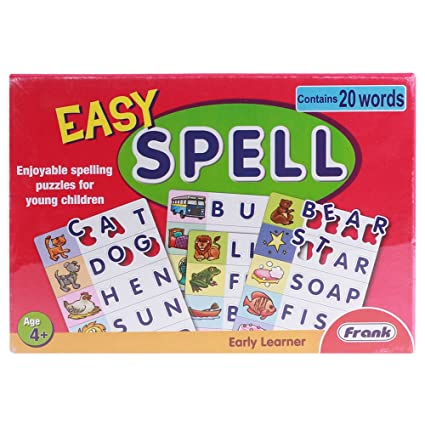 Frank Easy Spell Puzzle For 4 Year Old Kids And Above
