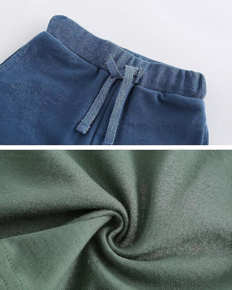 Fiream Boys Cotton Clothing Sets T-Shirt/&Shorts 2 Packs