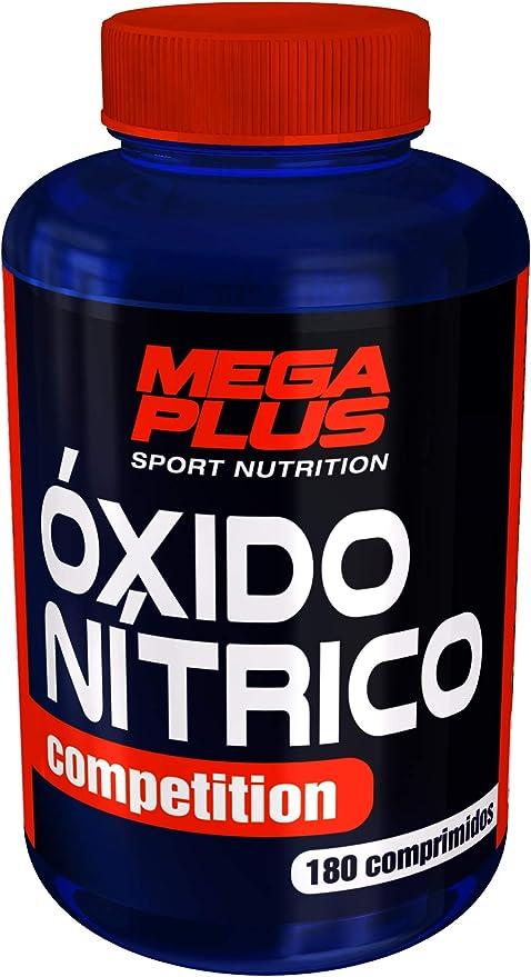 MEGA PLUS ÓXIDO N͍TRICO COMPETITION (COMPRIMIDOS DE ARGININA ALFA-KETOGLUTARATO) - Complemento alimenticio a base de Arginina alfa-ketoglutarato - 180 ...