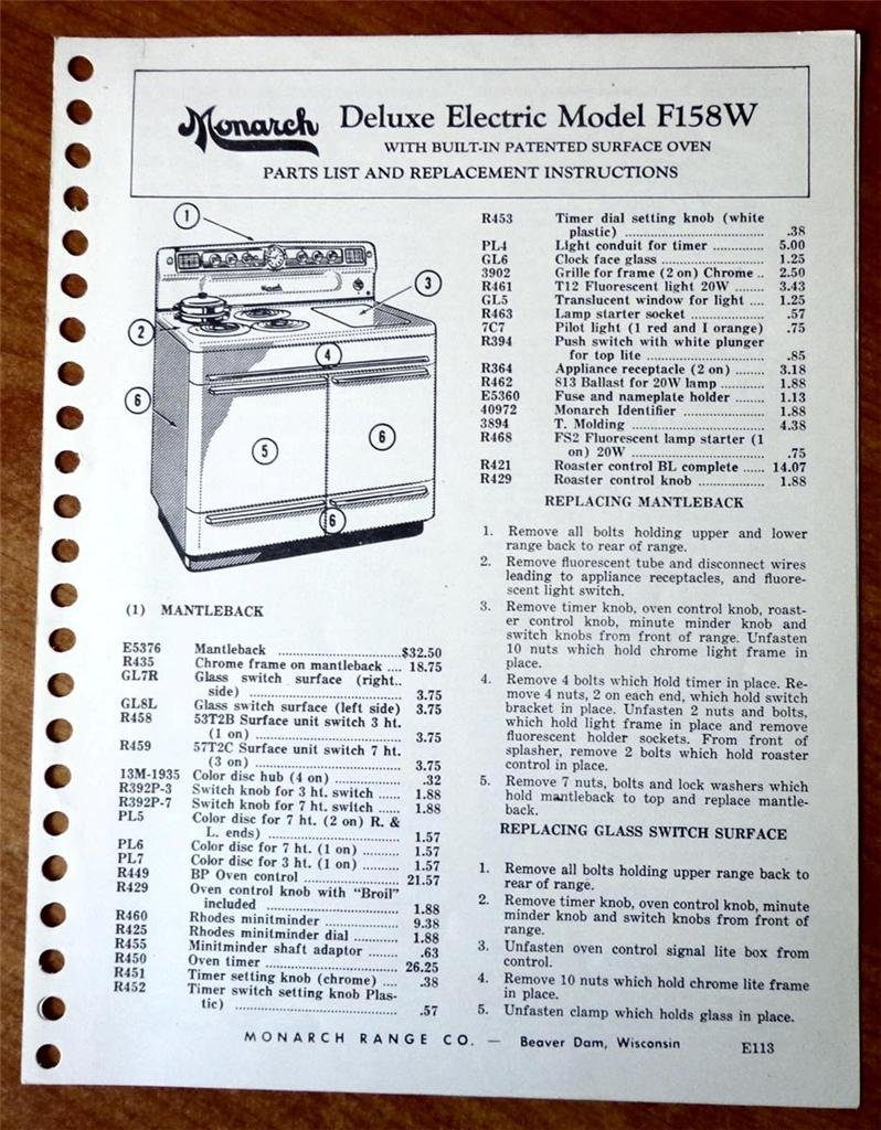 Built In Oven Wiring Instructions