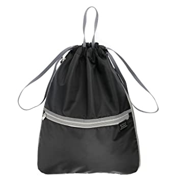 Amazon.com: Drawstring Backpack with Outside-Inside-Side Pockets ...