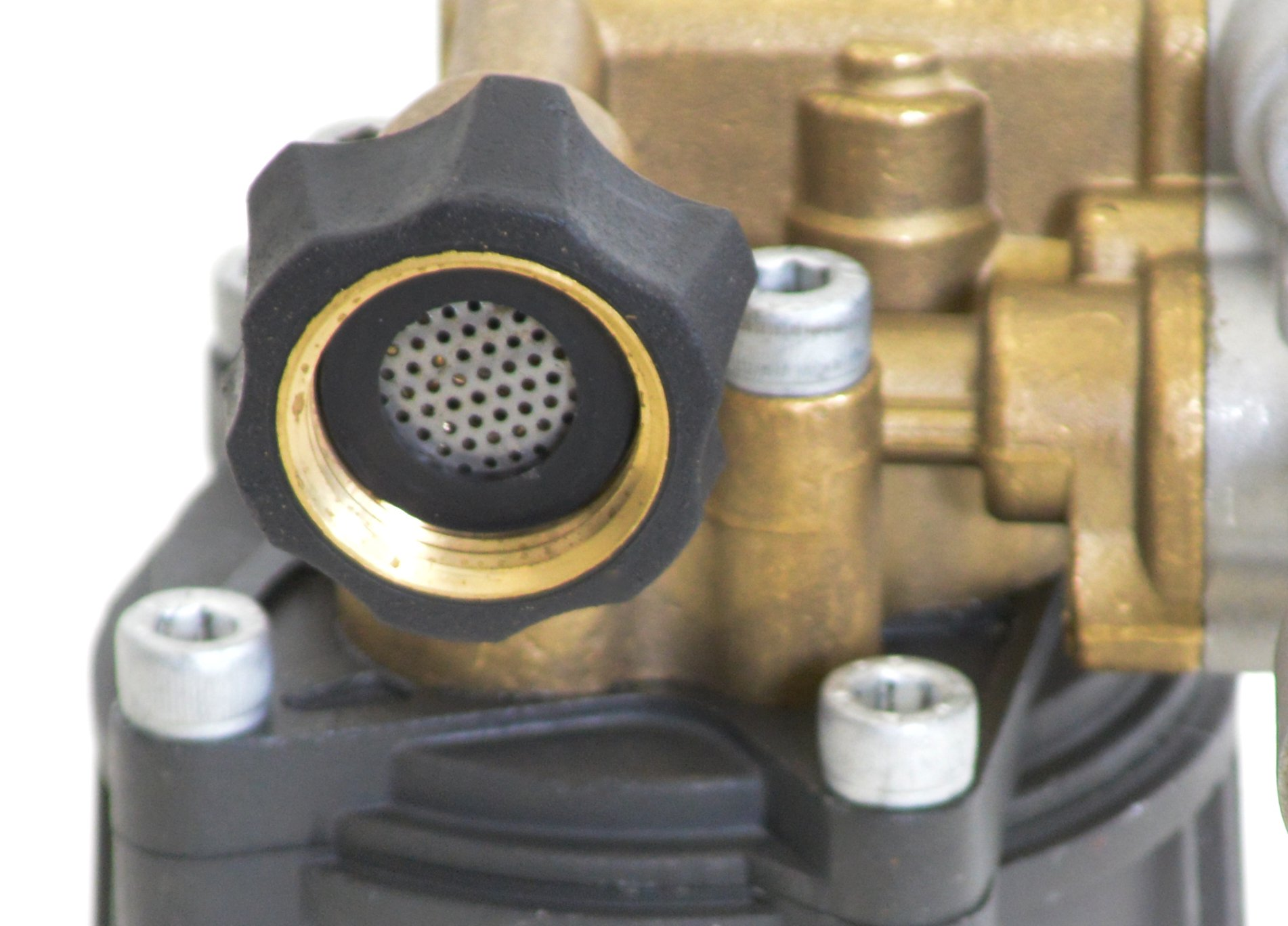 SIMPSON Cleaning 90029 Axial Cam Horizontal Pressure Washer Replacement Pump 8.6CAH12B 3100 PSI @ 2.5 GPM with Brass Head and PowerBoost Technology by Simpson Cleaning (Image #6)