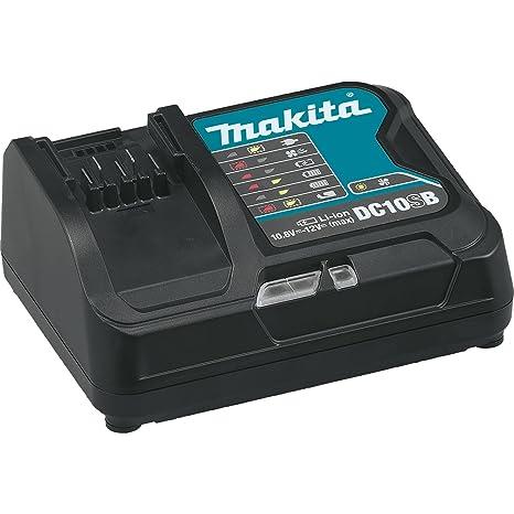 Amazon.com: Makita dc10sb 12 V max cXT iones de litio Rapid ...
