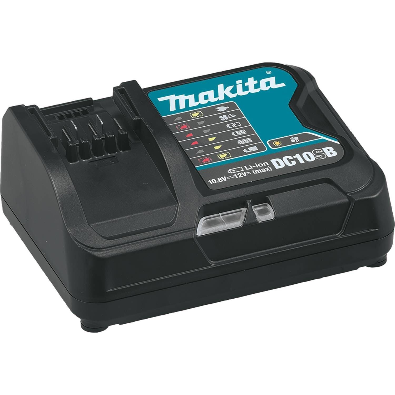 Makita DC10SB 12V Max CXT Lithium-Ion Rapid Optimum Charger