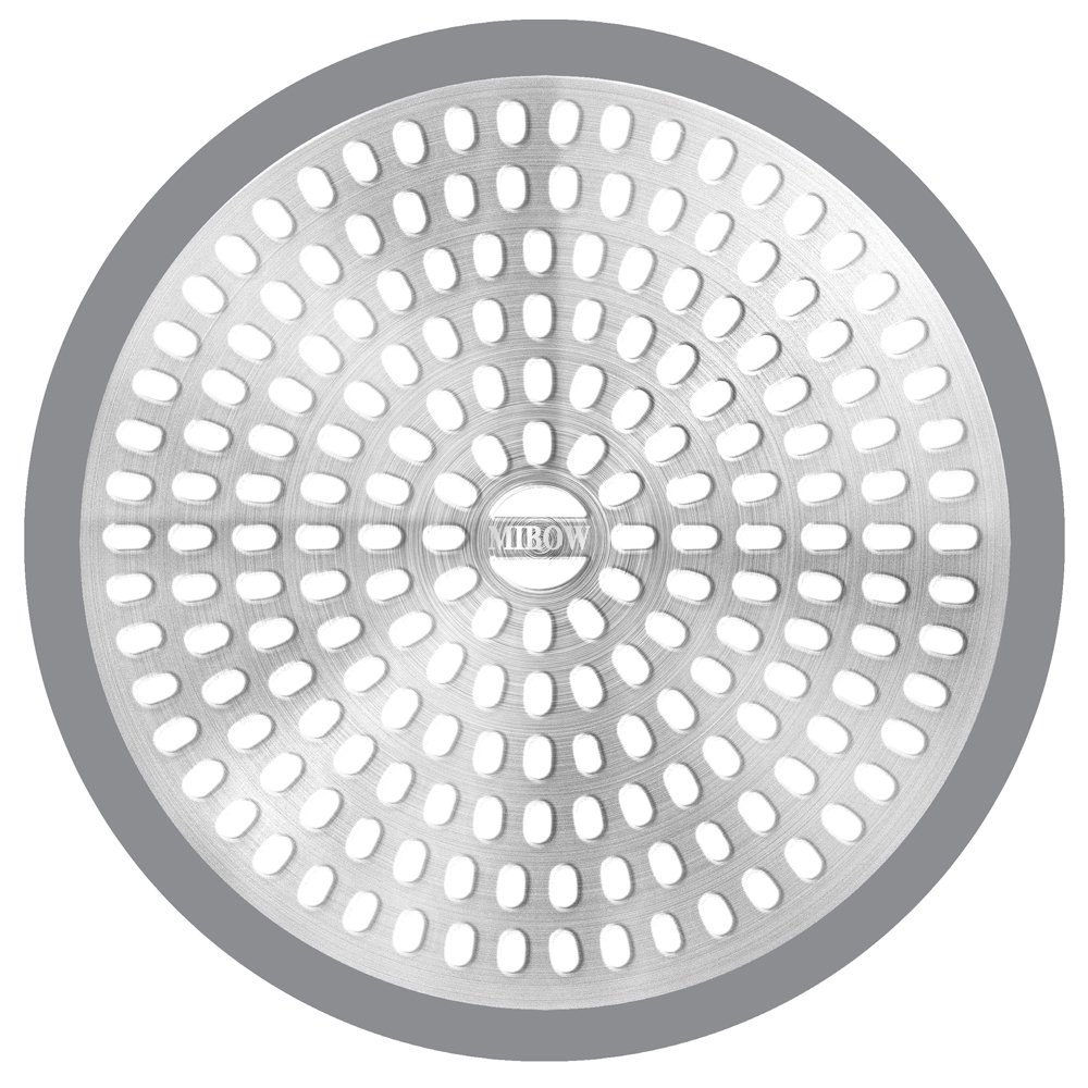 MIBOW Bathroom Shower Drain Protector Drain Cover Drain Catcher ...