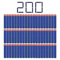 Nerf N-strike 200pcs 7.2cm espuma suave dardos recarga bala Blasters para Nerf N-strike Elite serie niños juguete pistola azul oscuro.
