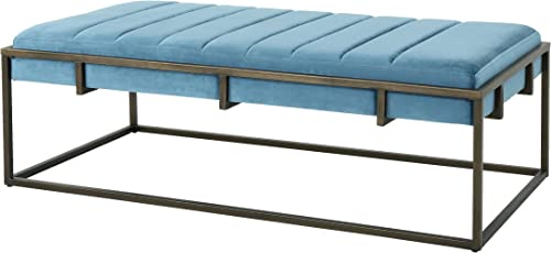 Christopher Knight Home Vassy Modern Velvet Ottoman Bench