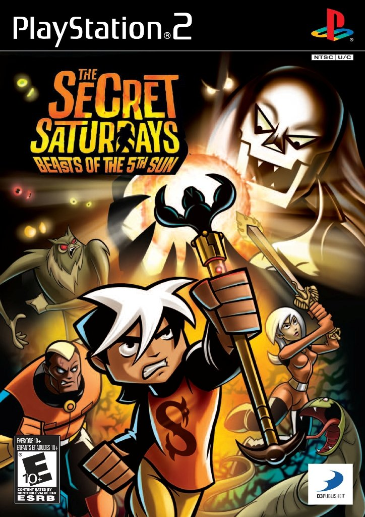 Secret Saturdays: Beasts of the 5th Sun - PlayStation 2