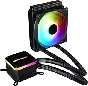 Enermax Liqmax III Addressable RGB 120 All-in-One CPU Liquid Cooler Dual Chamber Intel/AMD AM4 Support AIO ARGB LED Cooling 300W+ TDP; ELC-LMT120-ARGB