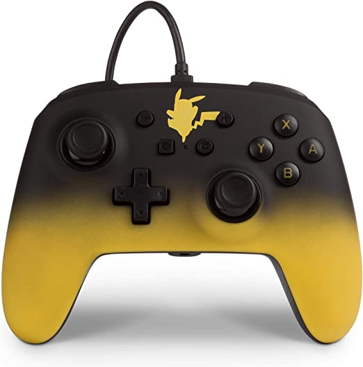 Mando con cable mejorado Pokémon para Nintendo Switch: Pikachu Fade (Nintendo Switch): Amazon.es: Videojuegos