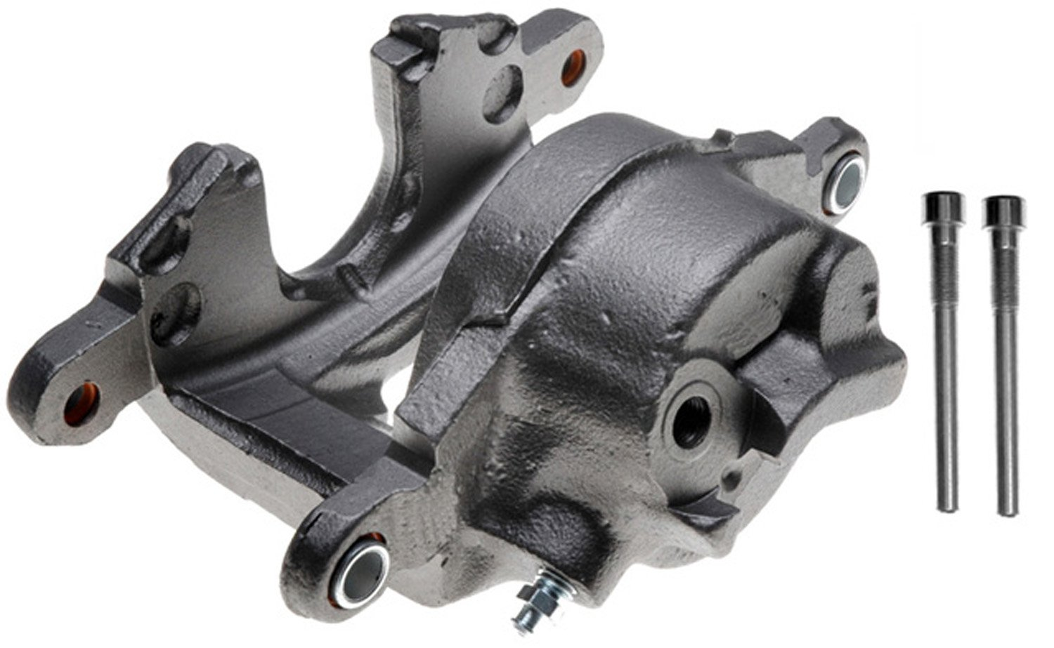 ACDelco 18FR584 Professional Front Driver Side Disc Brake Caliper Assembly without Pads (Friction Ready Non-Coated), Remanufactured