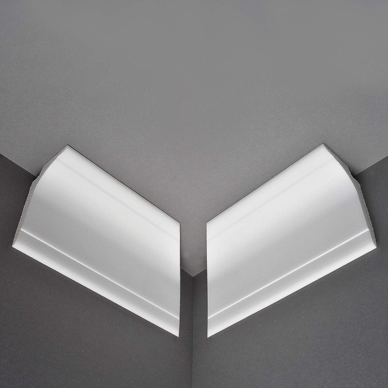 Profil/é BL14-10 m+4 Angle d/éclairage indirect Pour mur