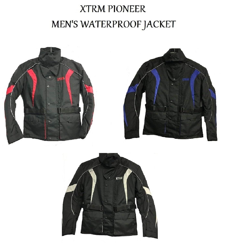 Motorcycle Jacket Waterproof Motorbike Jackets for Men XTRM PIONEER Bike Touring Wear CE Armoured Textile Rider Jacket