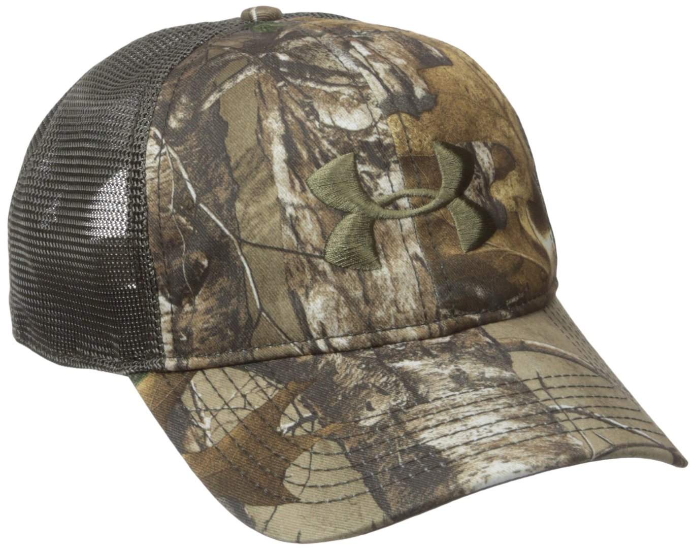 Under Armour Men's Camo Mesh Back Cap, Realtree Ap-Xtra (947)/Bayou, One Size by Under Armour