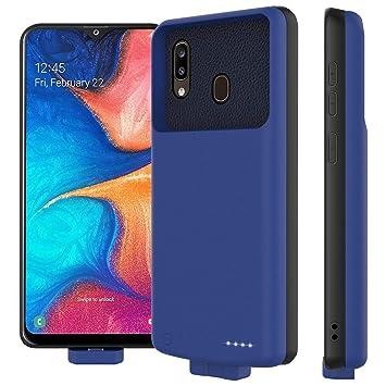 Rngqun Batería Funda para Samsung Galaxy A20 A30 ...