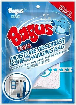 Amazon.com: Bagus Bolsa para colgar absorbe la humedad para ...
