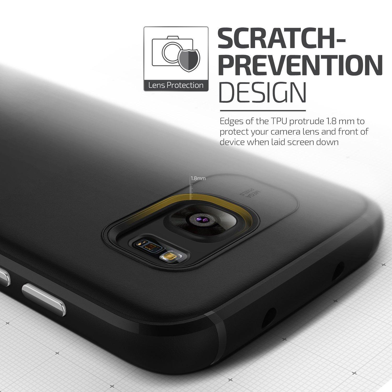 Samsung Galaxy S7 Edge Case Vrs Design Ultra Slim Baby Skin Thin Hard For Black Electronics