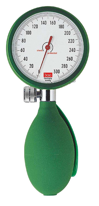 Boso dbclin01 _ V Tensiómetro Clinicus I, brazalete Velcro adulto, 60 mm diámetro reloj, verde: Amazon.es: Industria, empresas y ciencia