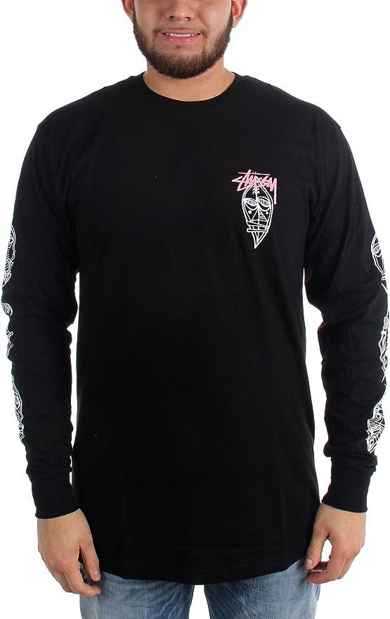 Stussy – Camisa de manga larga para hombre Tribe Máscaras Negro negro : Amazon.es: Ropa y accesorios