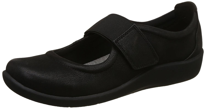 Clarks Cala Sillian Para Mujer Zapatos Planos 36 EU|Negro