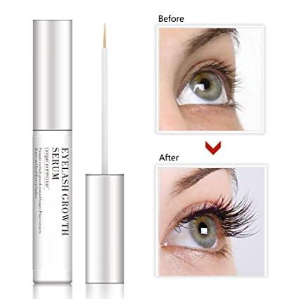 2bb52cb23bb Image Unavailable. Image not available for. Color: NEWTRENDING Best Eyelash  Growth Serum for Eyelash Eyebrow Irritation Latisse 5ml