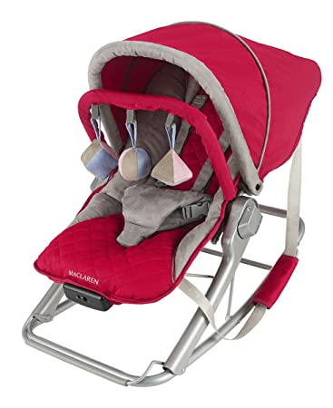 Amazon.com: Maclaren Rocker, persa, color rojo: Baby