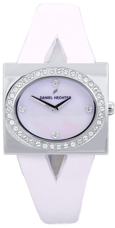 Daniel Hechter Damen-Armbanduhr Analog Quarz Leder DHC10120PYZ